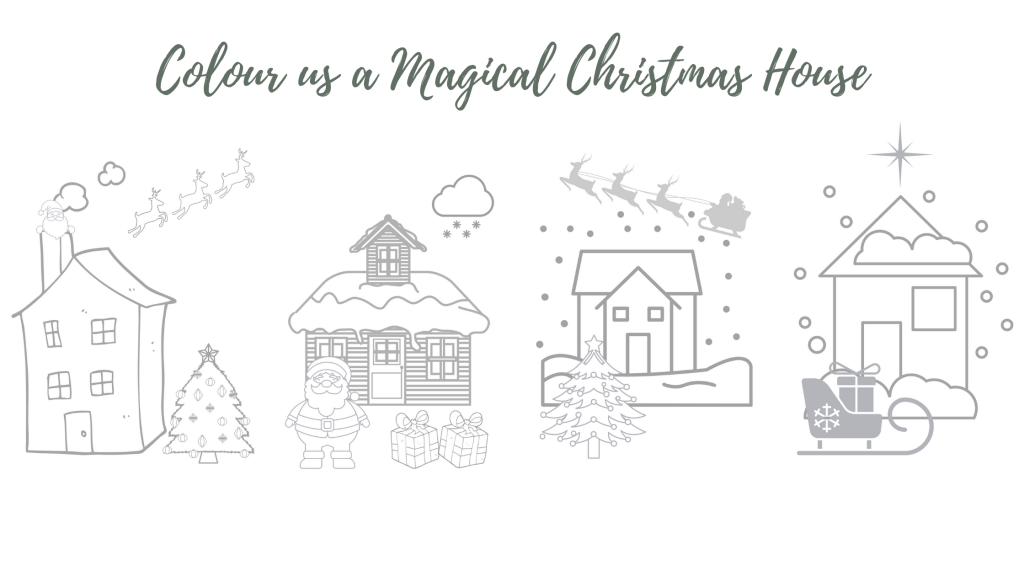 Wills & Smerdon Magical Christmas House Colouring Competition