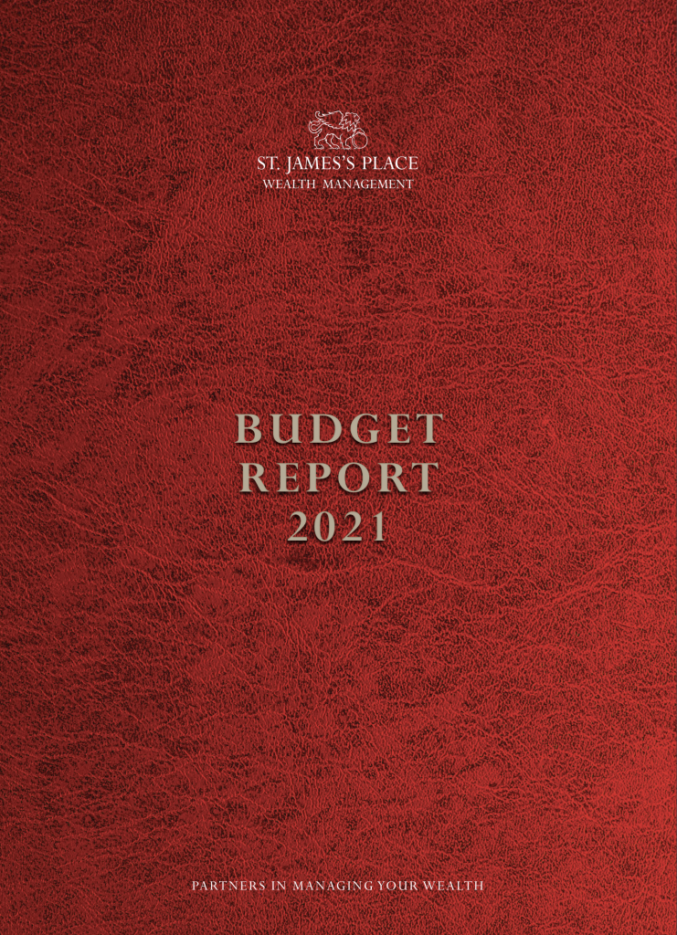 Budget Report from Thomas Rigg Wealth Management