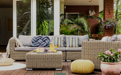 Bring the indoors, outdoors: make the most of your outdoor space